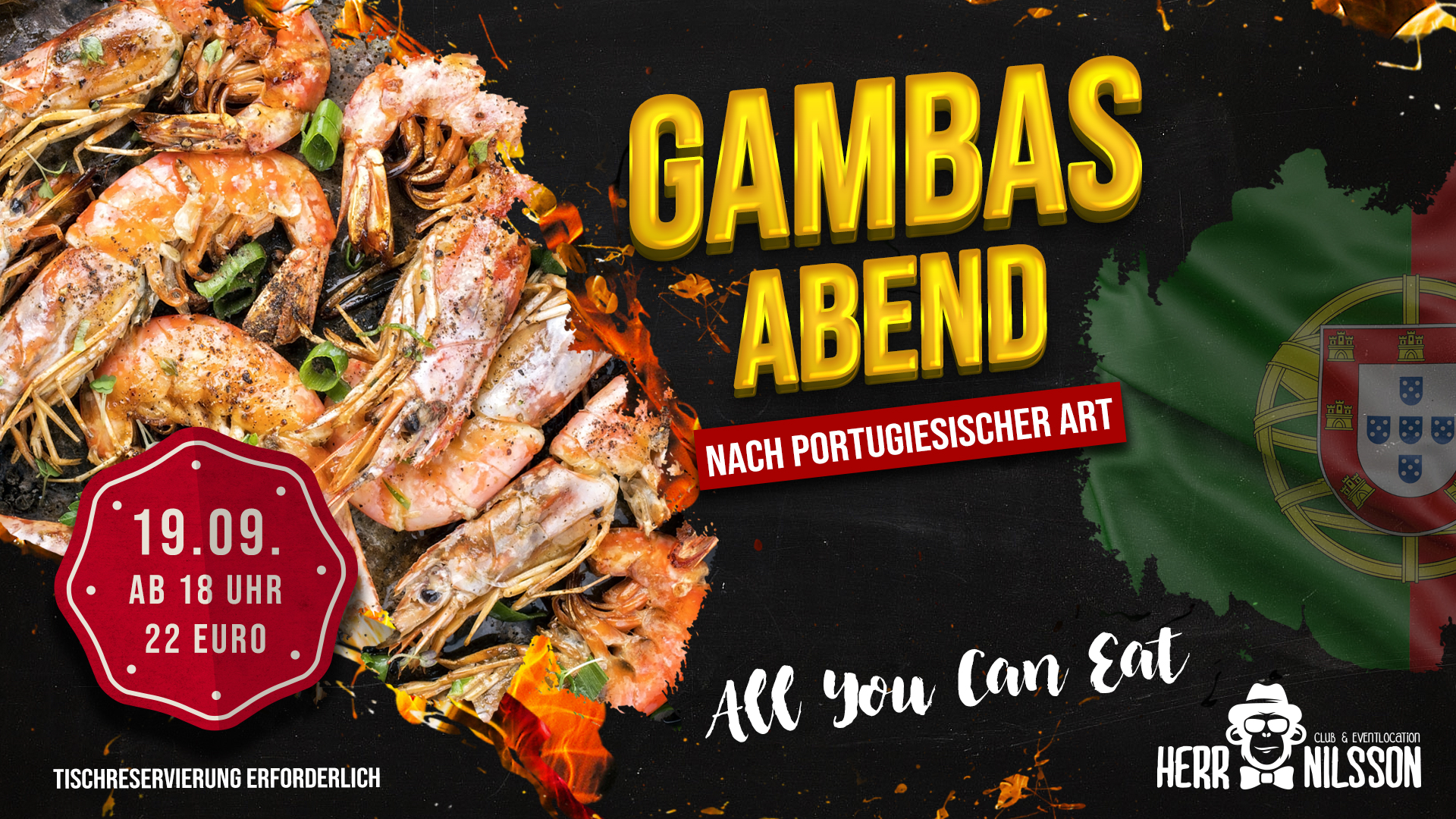 Gambas Abend ✘ All you can eat